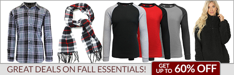 Great Deals on Fall Essential!