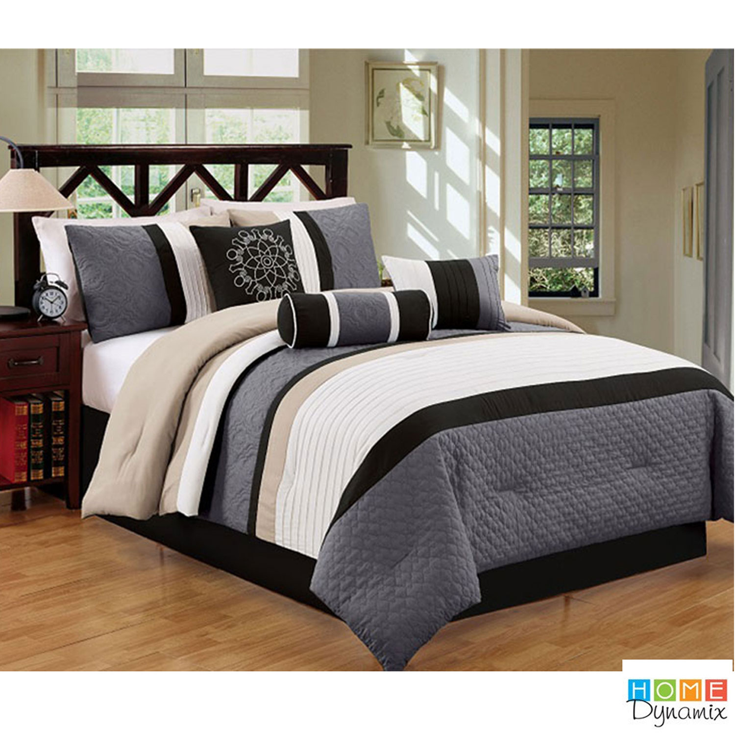 7-Piece Set: Evolution Fancy Oversize Overfilled Comforter Collection