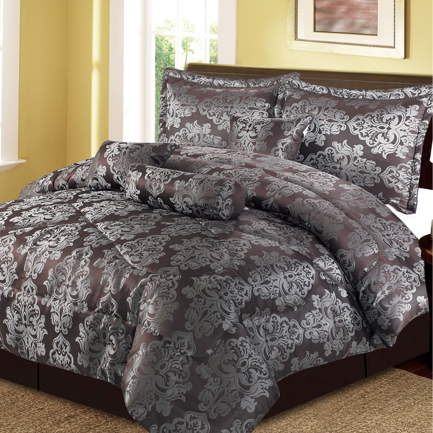 7 Piece Soho Hotel Collection Comforter Set