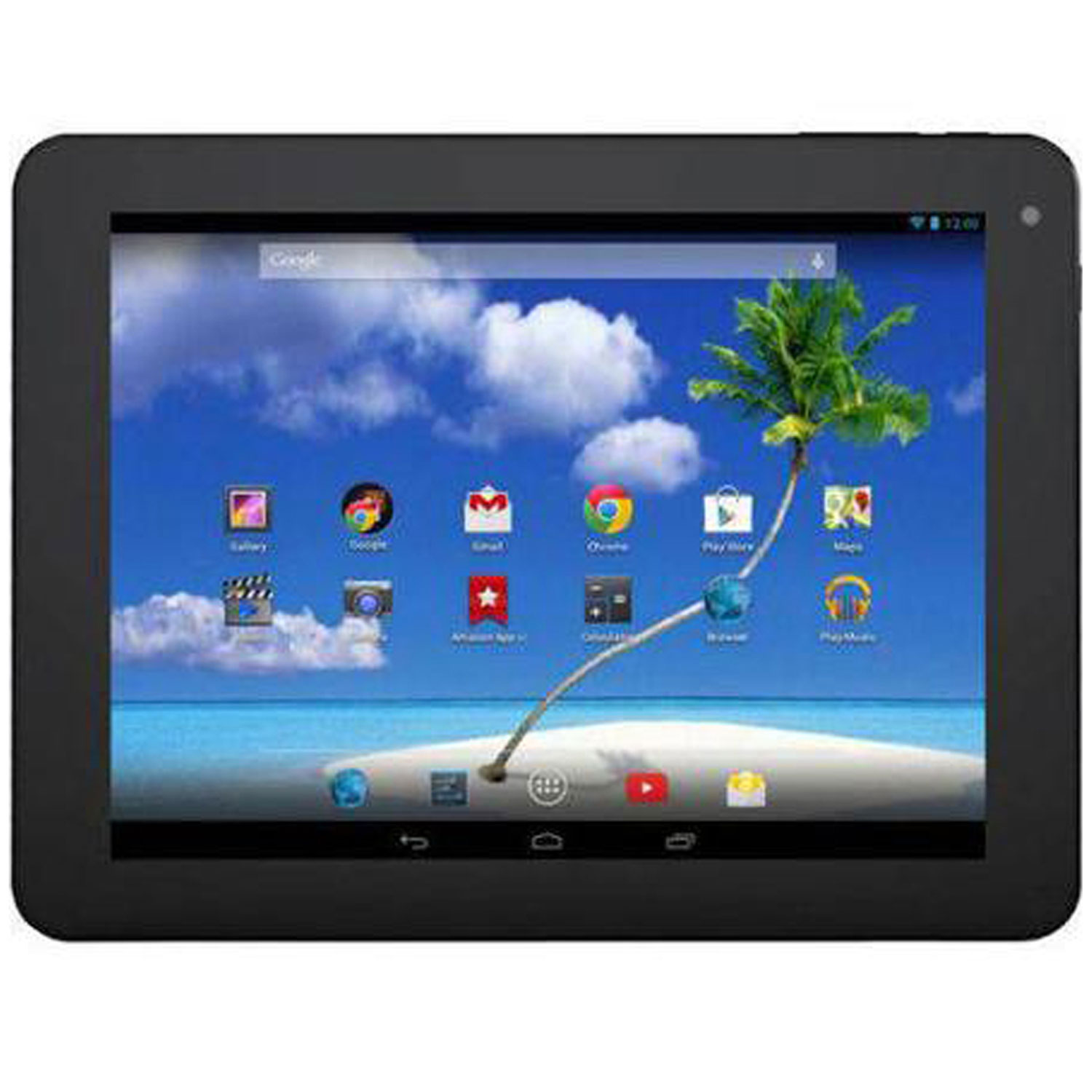"Proscan PLT1077G with WiFi 10"" Touchscreen Tablet PC Featuring Android 4.4 (KitKat) Operating System"