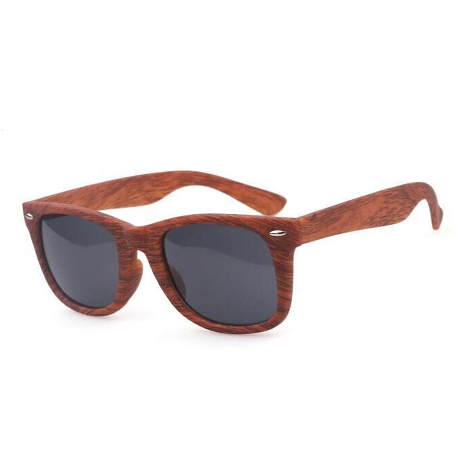 Imitation Wooden Sunglasses for Men and Women Eyewear- Assorted Colors