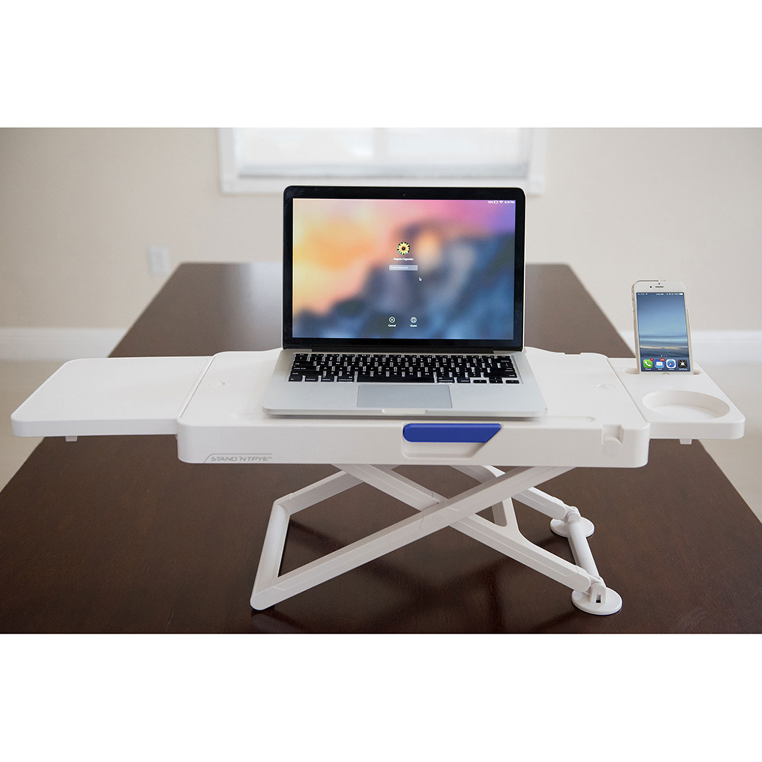 "Stand N Type 14.5"" H x 32"" W Standing Desk Conversion"