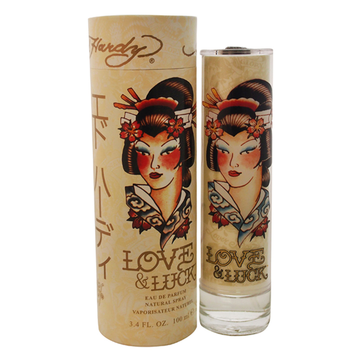 Ed Hardy Love Luck Gift Set For Women: Ed Hardy Love & Luck By Christian Audigier For Wo