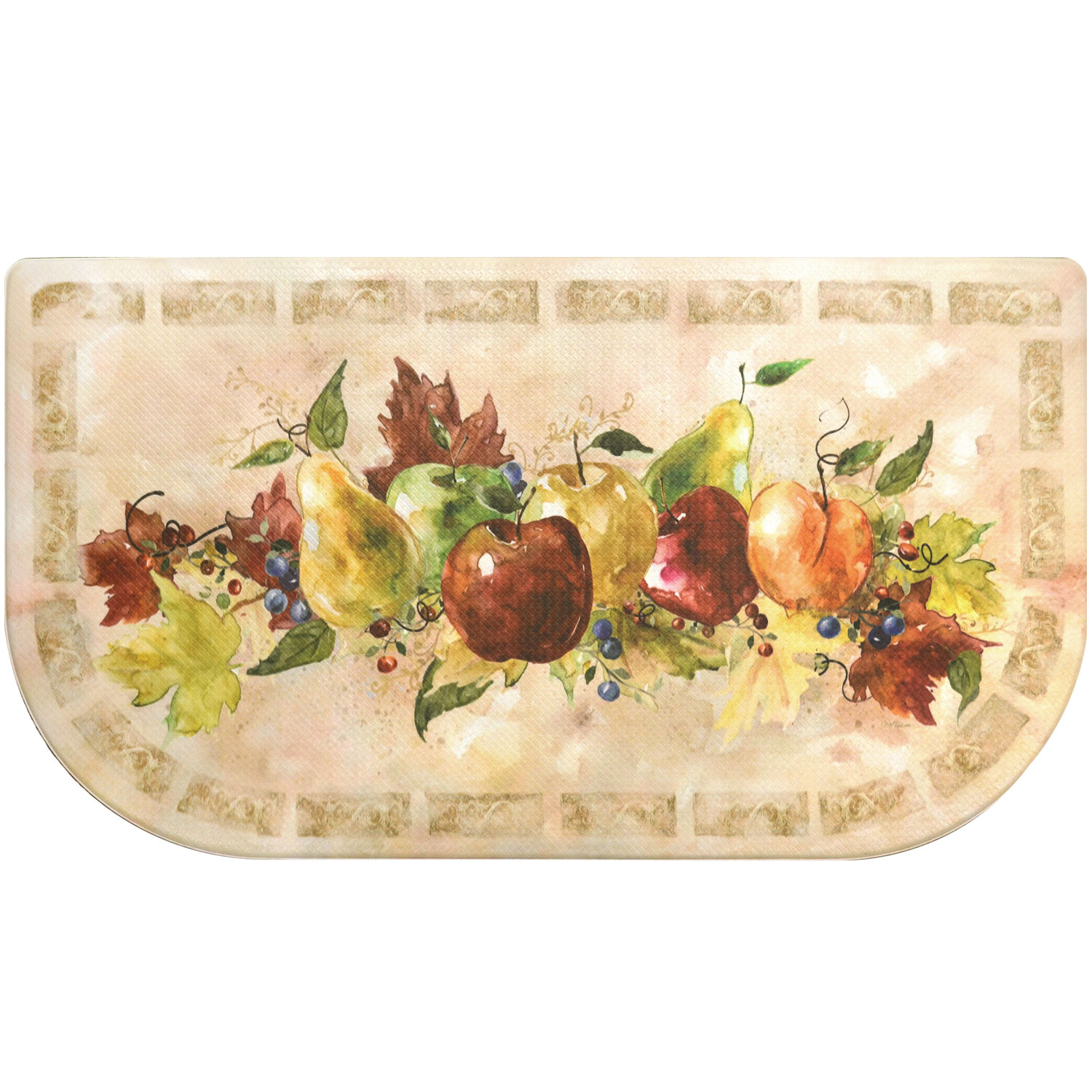 Home Dynamix Cook N Comfort Napa Fruit Slice Kitchen Mat - CNC81