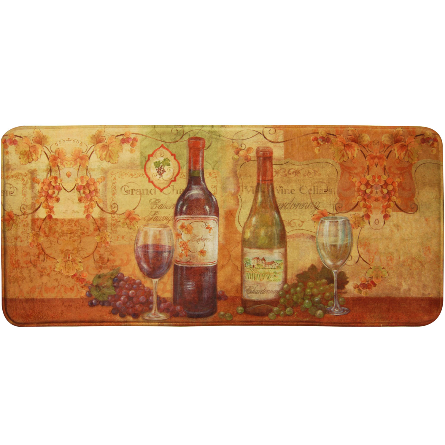 Home Dynamix Relaxed Chef Napa Wine Kitchen Mat - RC04