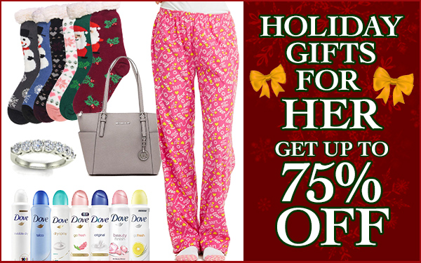 Great Holiday Gifts for Her!