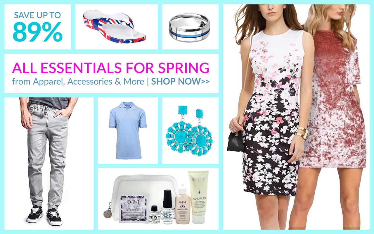 Super Sweet Savings On All Things Spring!