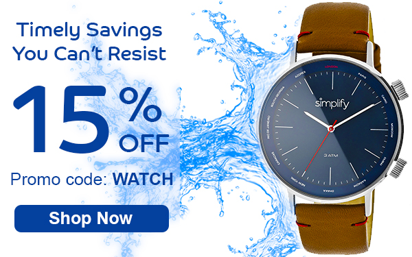 Timely Savings You Can't Resist
