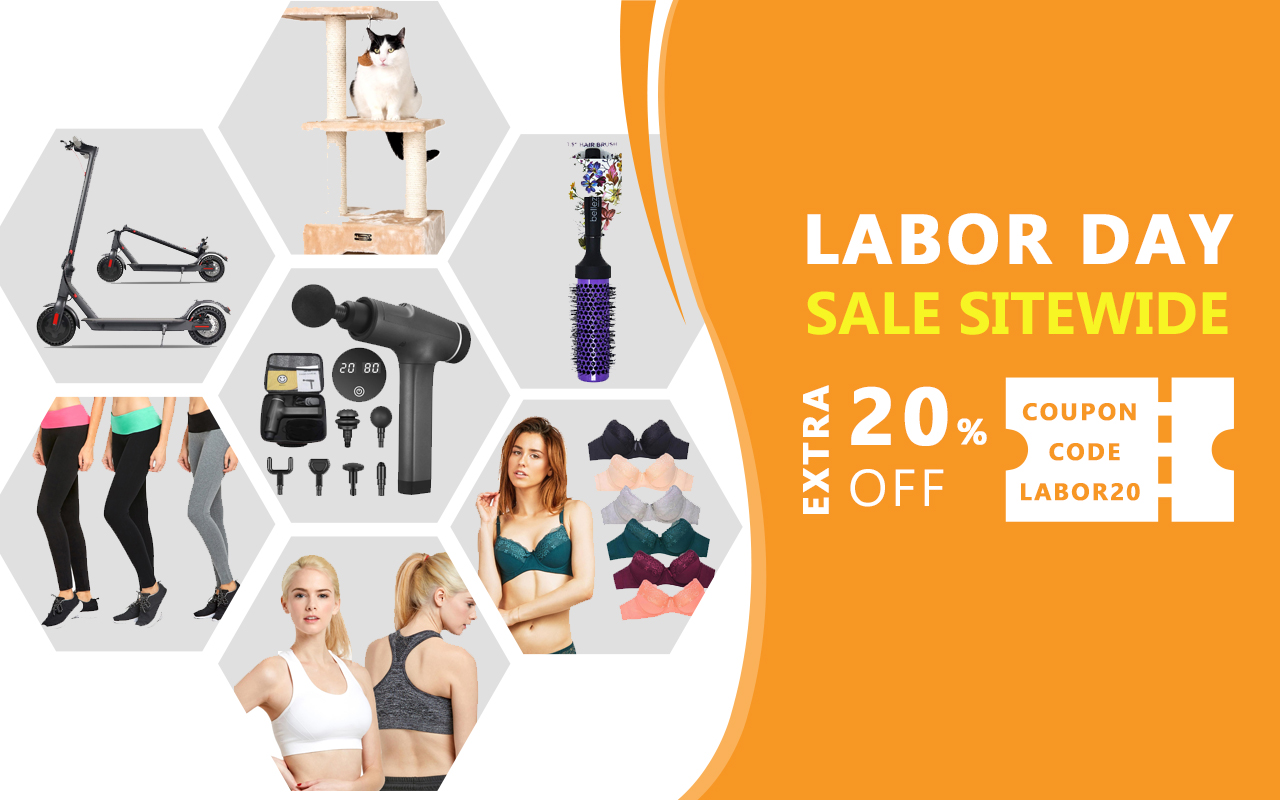 Labor day blowout sale - Free Shipping on Everything!*