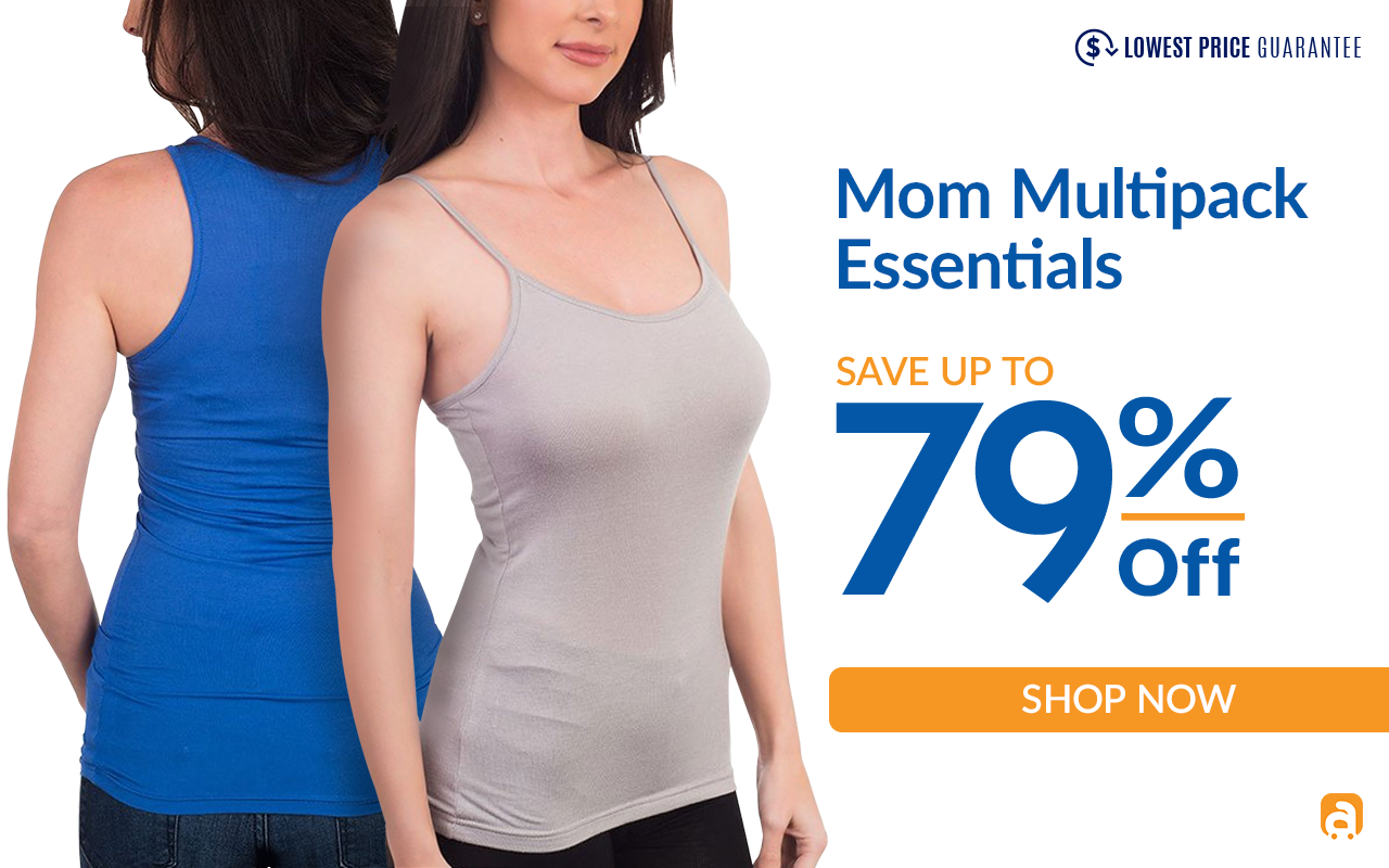 Mom Multi pack Essentials Event Up to 79% off