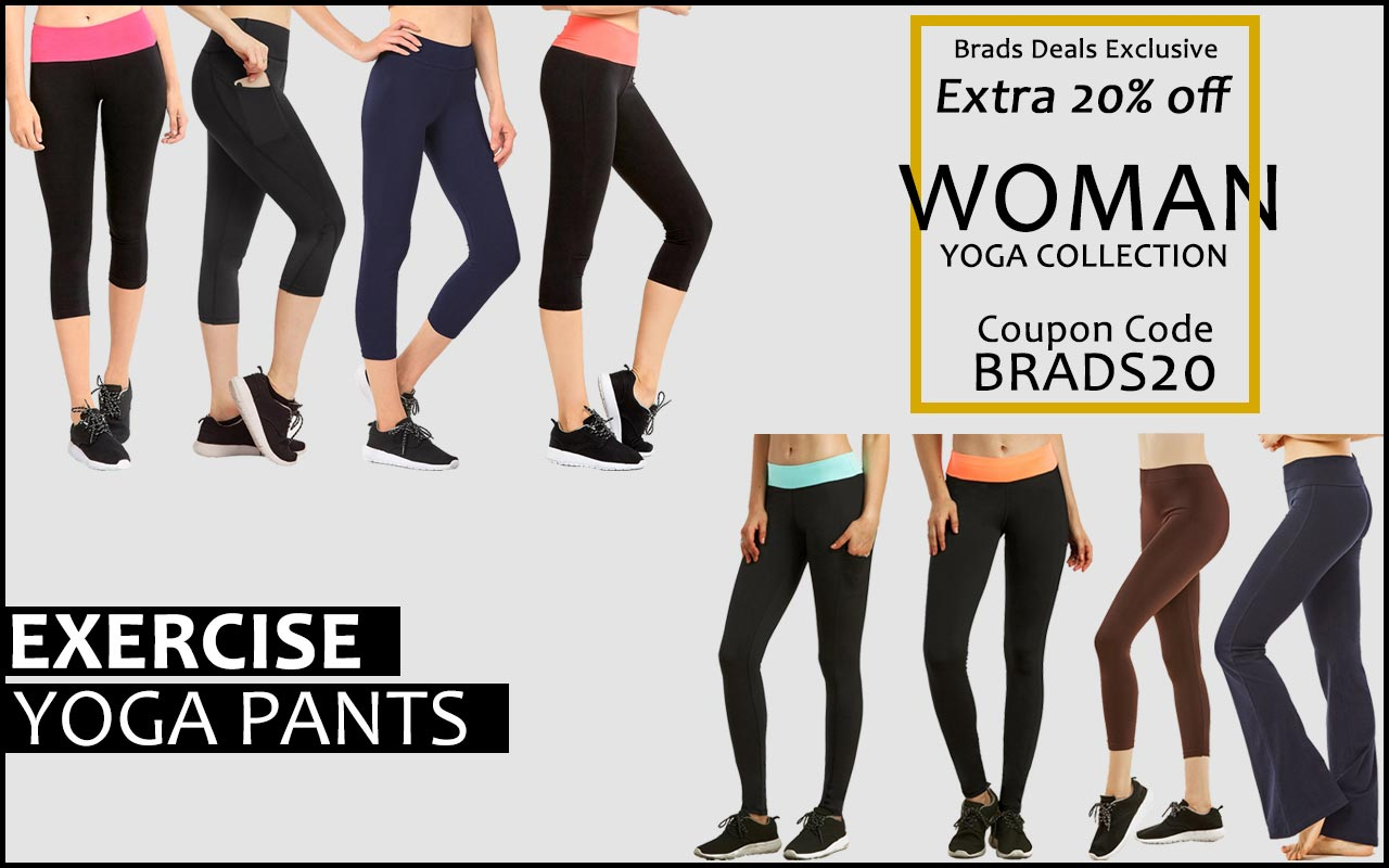 Look Great in Your Choice of Sporty and Stylish Leggings and Yoga Pants