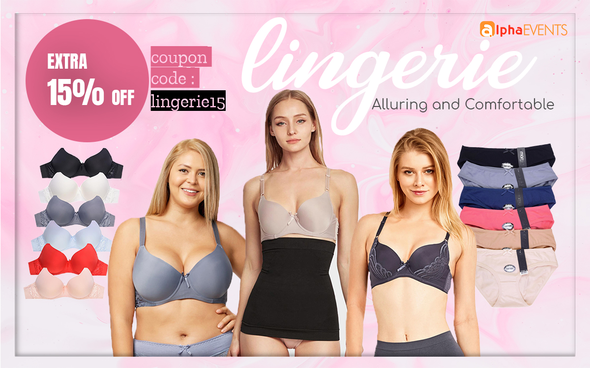 Alluring and Comfortable Lingerie