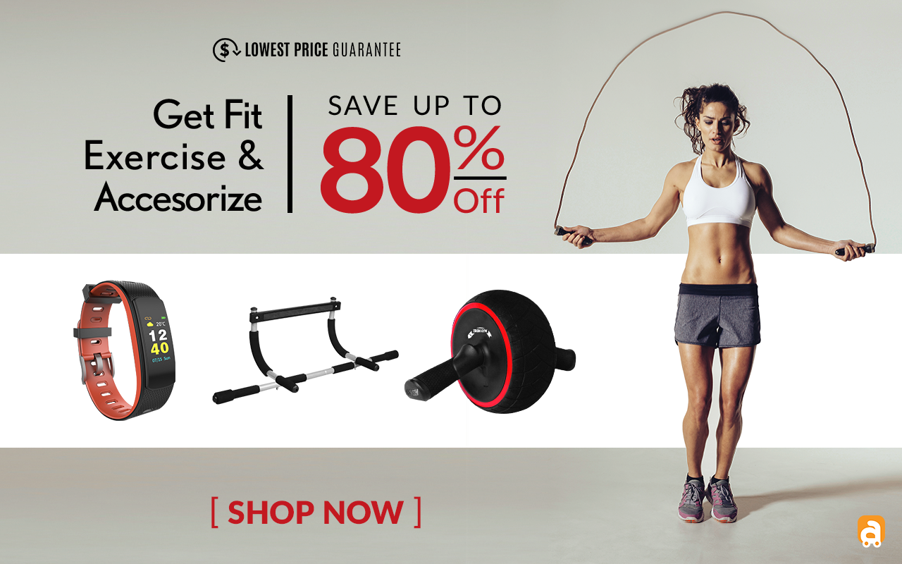 Save up to 80% on Speed Abs, Bandu Home Exercise Kit, Smart Bluetooth Fitness Bracelet. Act Fast thi