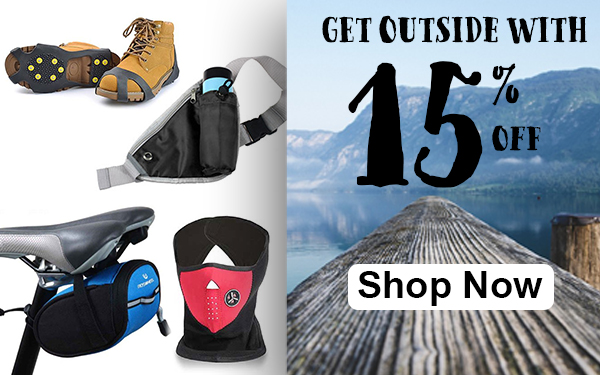 Get Outside with 15% off!