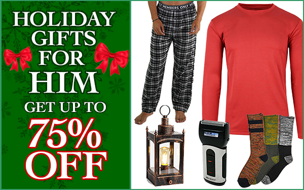 Great Holiday Gifts for Him!